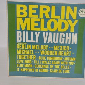 Billy Vaughn and His Orchestra Berlin Melody LP
